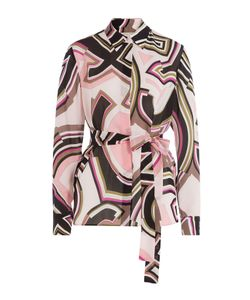 Emilio Pucci | Printed Silk Blouse Gr. It 40