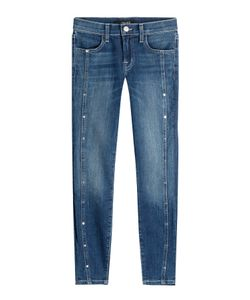 J Brand | Cropped Skinny Jeans With Studs Gr. 25
