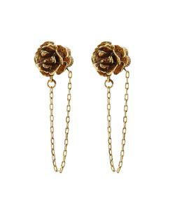 Marc Jacobs | Chain Flower Stud Earrings Gr. One Size