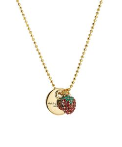 Marc Jacobs | Strawberry Coin Necklace Gr. One Size