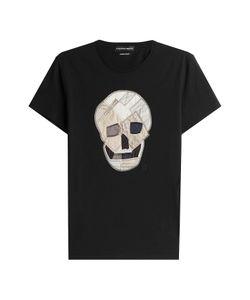 Alexander McQueen | Cotton T-Shirt With Applique Gr. M