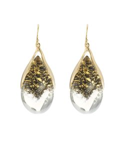 Alexis Bittar | Suspended Tear Drop Earring Gr. One Size