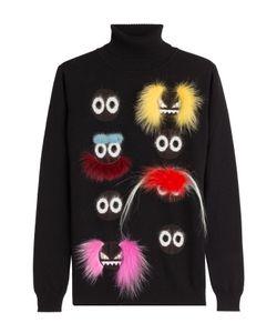 Fendi | Embellished Wool Turtleneck Gr. It 44