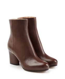Maison Margiela | Leather Ankle Boots Gr. Eu 37