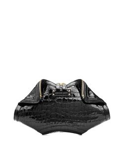 Alexander McQueen | De Manta Embossed Leather Clutch Gr. One Size