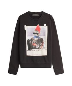 Dsquared2 | Printed Cotton Sweatshirt Gr. S