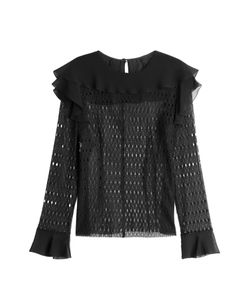 Philosophy di Lorenzo Serafini | Lace Blouse With Ruffles Gr. It 42