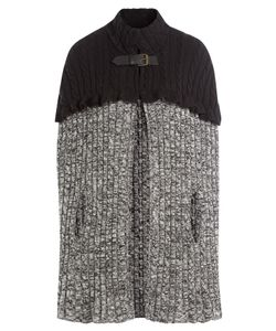 Philosophy di Lorenzo Serafini | Wool Cable Knit Cape Gr. It 38