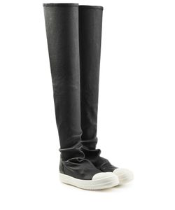 Rick Owens | Leather Over-The-Knee Boots Gr. It 40