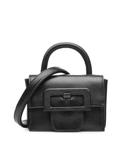 Maison Margiela | Leather Petite Satchel With Oversized Buckle Gr. One Size