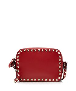 Valentino | Rockstud Leather Camera Bag Gr. One Size
