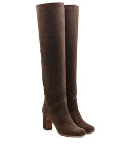 L' Autre Chose | Suede Knee Boots Gr. It 36