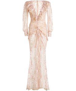 Alessandra Rich | Floor Length Lace Dress Gr. It 42
