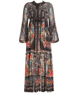 Roberto Cavalli | Printed Cotton Maxi Dress Gr. It 38