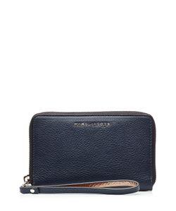 Marc Jacobs | Two-Tone Leather Zip Phone Wristlet Gr. One Size