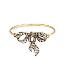 Marc Jacobs | Crystal Embellished Bow Bracelet Gr. One Size