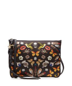 Alexander McQueen | Printed Fabric Shoulder Bag Gr. One Size