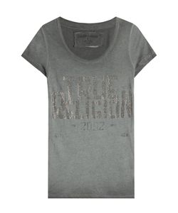 True Religion | Embellished Cotton Blend T-Shirt Gr. M