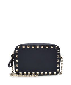 Valentino | Small Leather Rockstud Shoulder Bag Gr. One Size