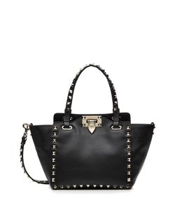 Valentino | Mini Leather Rockstud Tote Gr. One Size