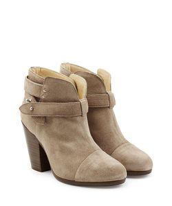 Rag & Bone | Suede Harrow Ankle Boots Gr. It 36