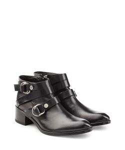 Mcq Alexander Mcqueen | Leather Ridley Harness Ankle Boots Gr. It 36
