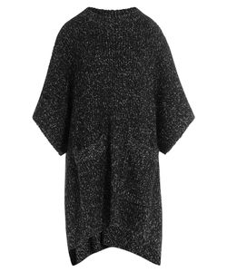 See By Chloe | Two-Tone Knit Poncho Gr. Xs/S