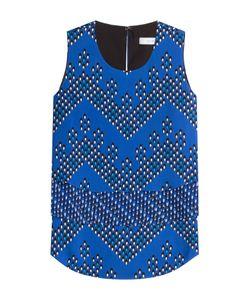 Diane Von Furstenberg | Silk Jersey Printed Shell Gr. S