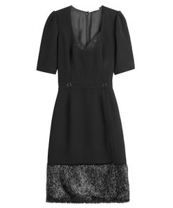 Marco De Vincenzo | Fitted Dress With Shimmer Hem Gr. It 40