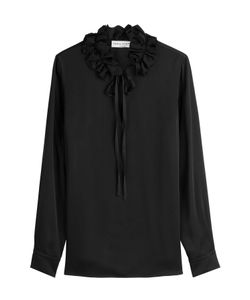 Sonia Rykiel | Crepe Blouse With Ruffles Gr. Fr 36
