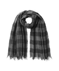 Rick Owens | Checked Scarf With Wool Cashmere And Silk Gr. One Size