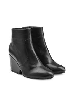 Robert Clergerie | Leather Ankle Boots Gr. Fr 375