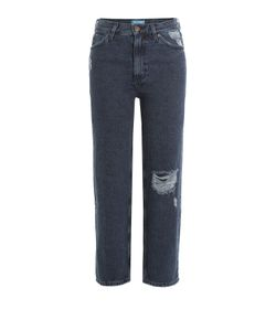 Mih Jeans | Straight Leg Cropped Jeans Gr. 30