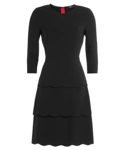 Steffen Schraut | Three-Quarter Sleeve Tiered Dress Gr. De 34