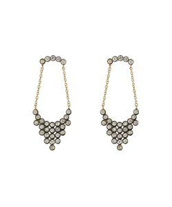 Yannis Sergakis Adornments | 18-Karat Yellow And Diamond Chandelier Earrings Gr. One Size
