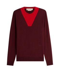 Marni | Colorblock Wool Pullover Gr. Eu 48