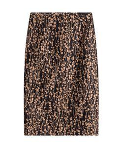 Michael Kors Collection | Printed Cotton Skirt With Silk Gr. Uk 8