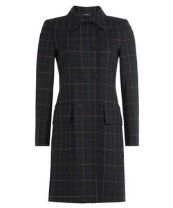 Theory | Checked Coat With Virgin Wool Gr. S