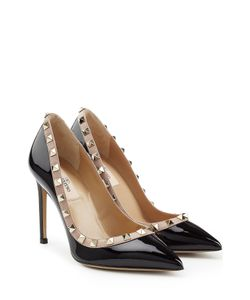 Valentino | Rockstud Patent Leather Pumps Gr. It 36