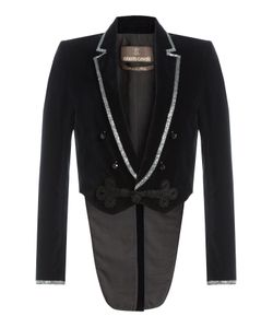 Roberto Cavalli | Velvet Blazer With Crystal Embellishment Gr. It 44