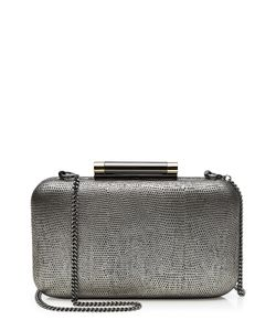 Diane Von Furstenberg | Slim Tonda Leather Box Clutch Gr. One Size