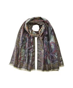 Etro | Printed Silk-Wool Scarf Gr. One Size