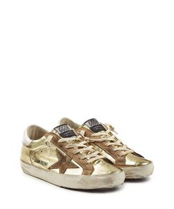 Golden Goose | Super Star Metallic Leather Sneakers Gr. Eu 38
