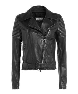 Just Cavalli | Leather Biker Jacket Gr. It 38