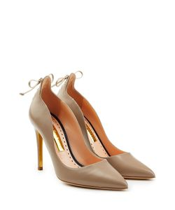 Rupert Sanderson | Vanity Suede Pumps With Lace-Up Detail Gr. Eu 37