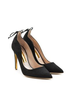Rupert Sanderson | Vanity Leather Pumps With Lace-Up Detail Gr. Eu 36