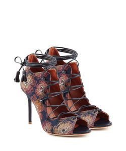 MALONE SOULIERS | Lace-Up Sandals With Leather Gr. Eu 40