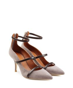 MALONE SOULIERS | Suede Pumps With Leather Gr. Eu 36