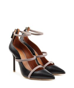 MALONE SOULIERS | Leather Pumps With Suede Gr. Eu 36