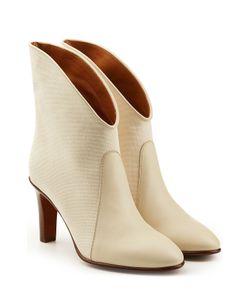 Chloe | Ankle Boots With Leather Gr. It 365